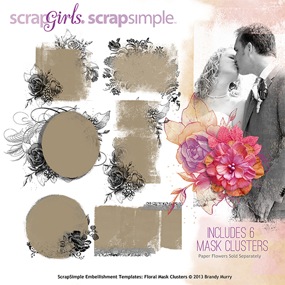 scrapsimple club digital scrapbookingdigital scrapbooking embellishment templates
