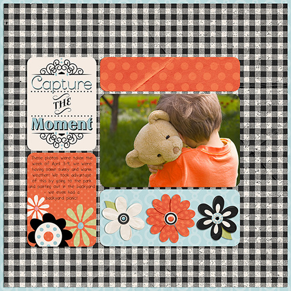 journal card kit digital layout