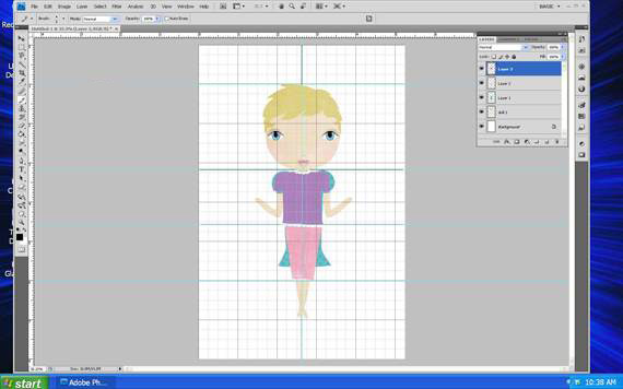 dress the paper doll