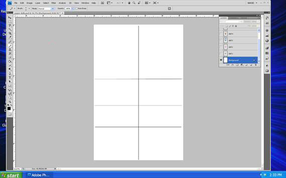 draw guidelines