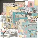 Venue digital scrapbooking kit