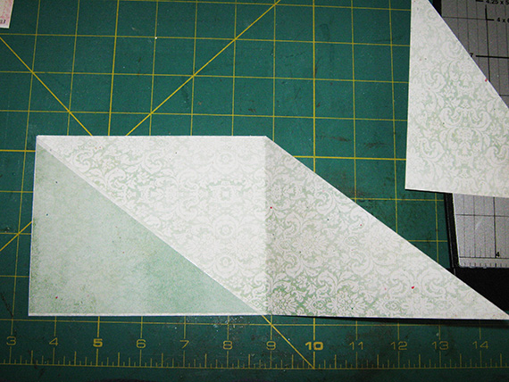 crisscross card glue ends