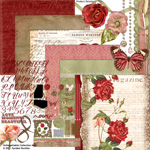 Unforgettable digital scrapbooking kit