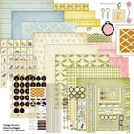 vintage nursery digital kit
