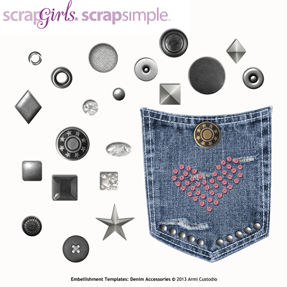 denim accessories digital embellishments