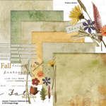 Autumn Treasures digital scrapbook kit