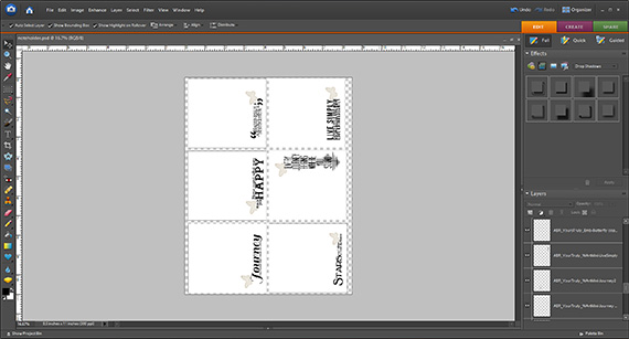 create note papers to print