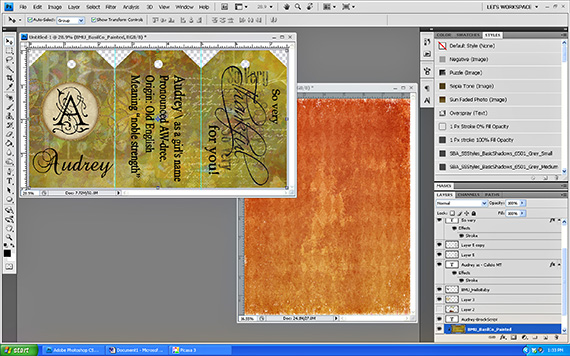 create print sheet in photoshop