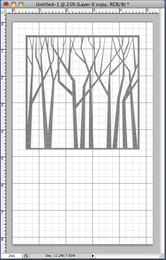 cut out pages place template