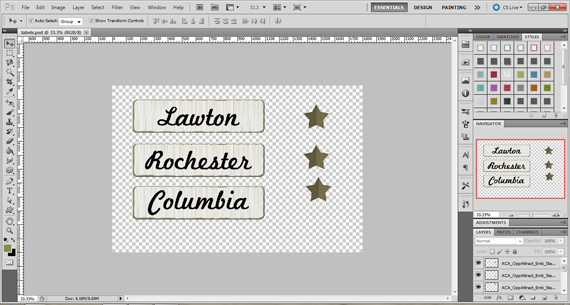 print out accents