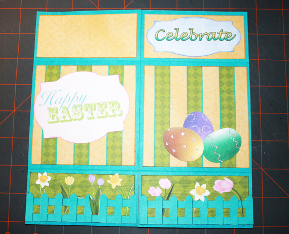 never-ending card easter