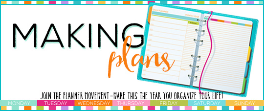 Making Plans  Join The Planner Movement