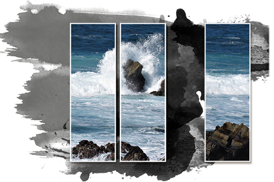 as you can see this technique can be used in a variety of ways using multiple frames with one photo is a fun and easy way to change up the look of - Multiple Photos In One Frame