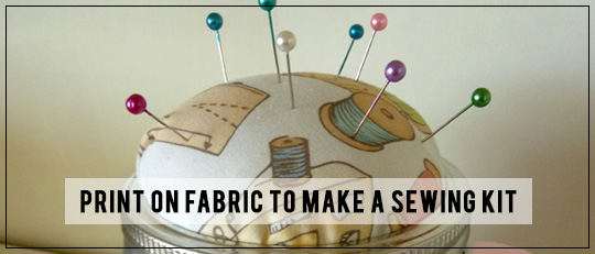 Print on Fabric sewing kit