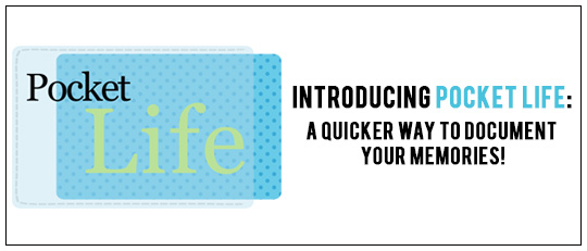 Introducing Pocket Life: A Quicker Way To Document Your Memories!