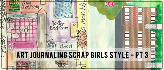 Art Journaling Scrap Girls Style – Lesson 3