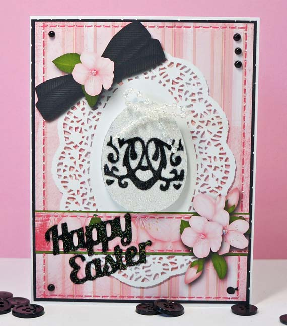 easter card free cutting files