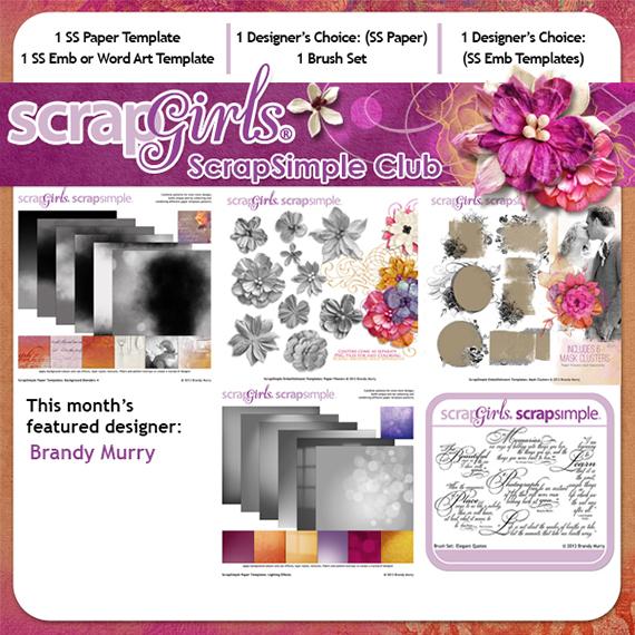 scrapsimple club march 2013