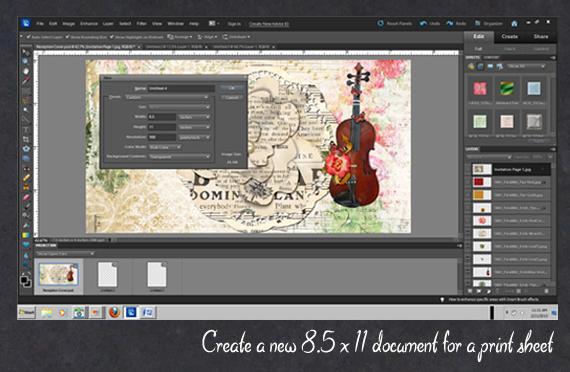 create printable sheet