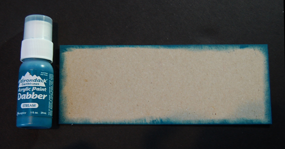 paint edges of pencil box base