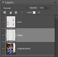 select frame layer