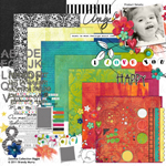 zoomba digital scrapbooking kit