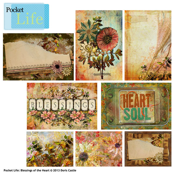 Pocket Life Blessings Journal Cards