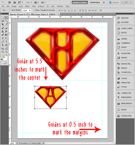 creating a printable in photoshop