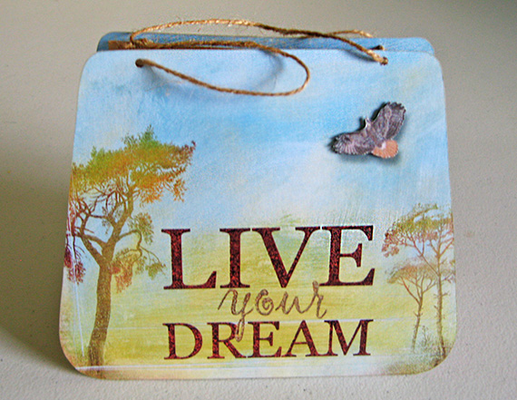 Live your dream gift bag