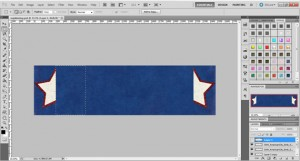 create napkin ring in photoshop