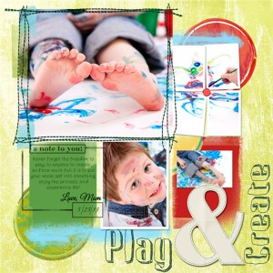 layout templates digital scrapbook layout