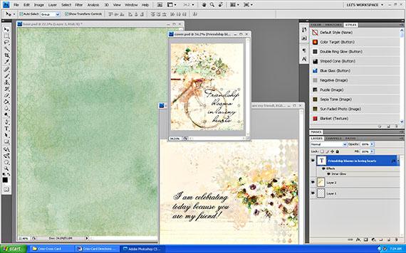 create crisscross card printable