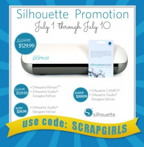 july silhouette promotion