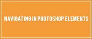 Navigating in Photoshop Elements