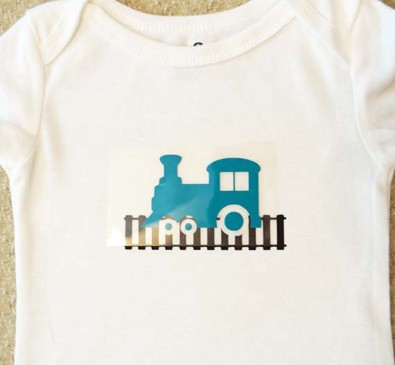 silhouette heat transfer layer pieces