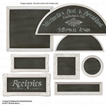 framed chalkboard digital embellishments