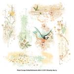 petal scraps digital embellishments