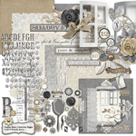 shabby blanc digital kit