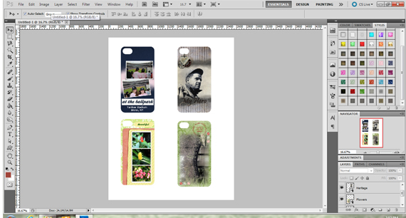 create printable smartphone covers photoshop