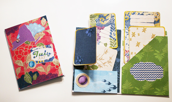 Envelope-mini-album-journal-cards-pockets