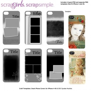 smartphone cover templates