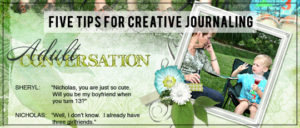 5 Tips for Creative Journaling
