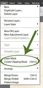 create a layer mask