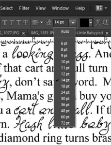 text window in PSE
