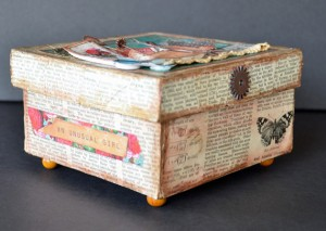 DIY printable altered box side 2