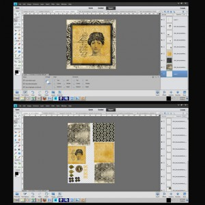 create a print sheet in photoshop