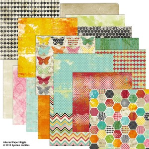altered life digital papers