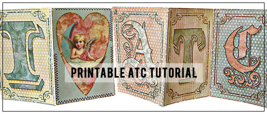 Printable ATC Tutorial