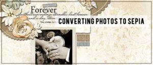 Converting Photos to Sepia