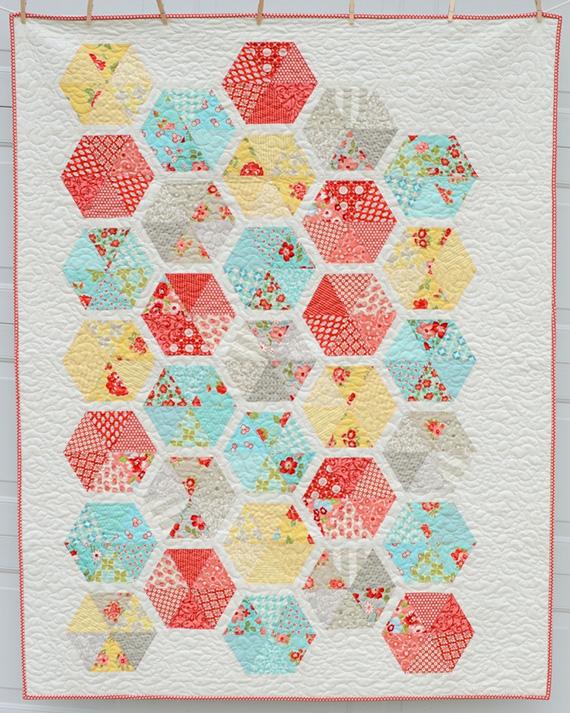 inspiration hexagon quilt